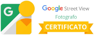 Badge Street View Certificato - Antonio Puca fotografo pubblicitario 300x313